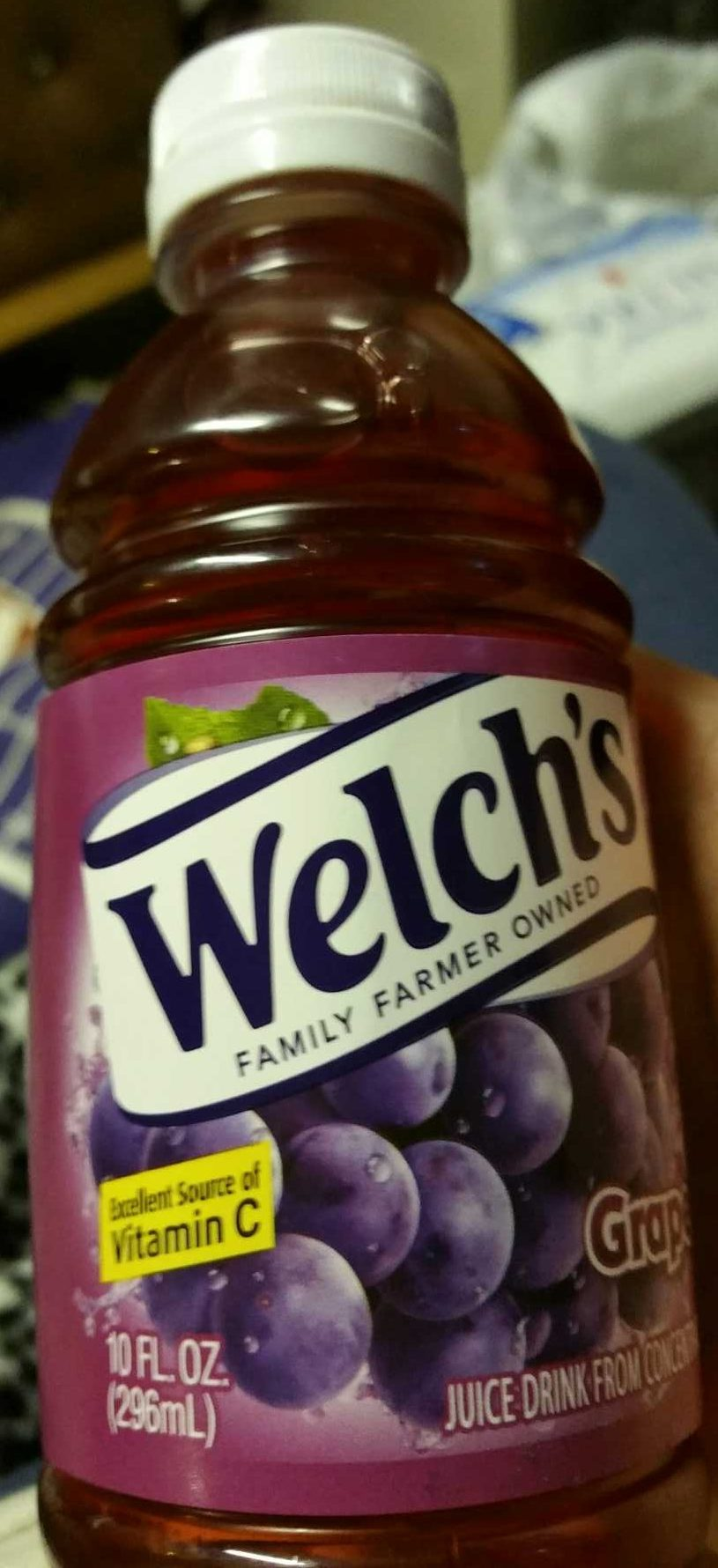 Welch's, juice drink from concentrate, grape - Produit - fr
