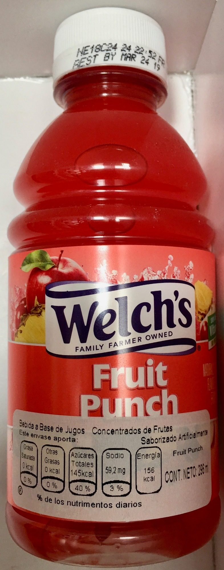 Welch´s Fruit Punch - Producto - es