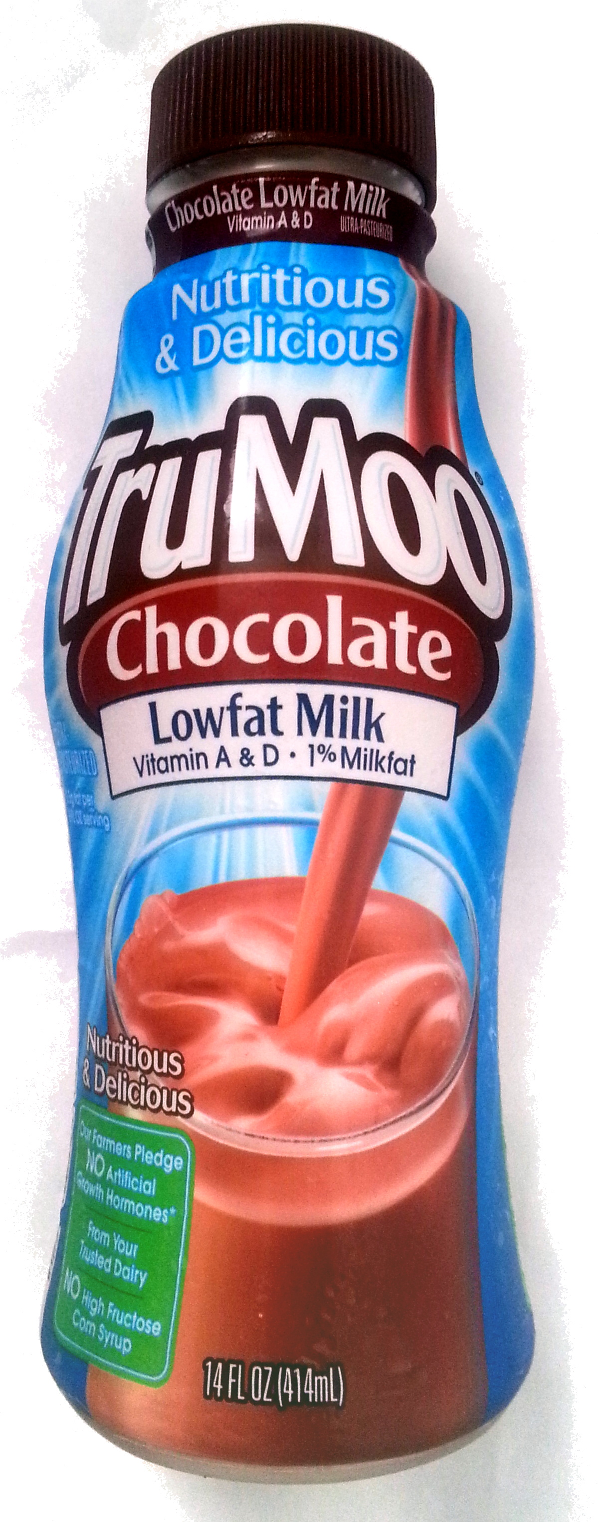 Chocolate Milk - TruMoo - 14 FL OZ (414 mL)