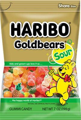 Sour gold bears - Product - en