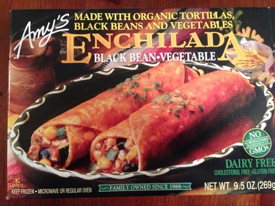 Enchilada Black bean and vegetable - Product