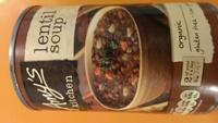 Organic Lentil Soup - Product - en