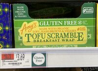 Tofu scramble breakfast wrap - Product - en