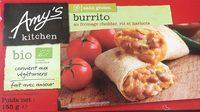 Burrito au cheddar, riz et harricots - Produit - fr