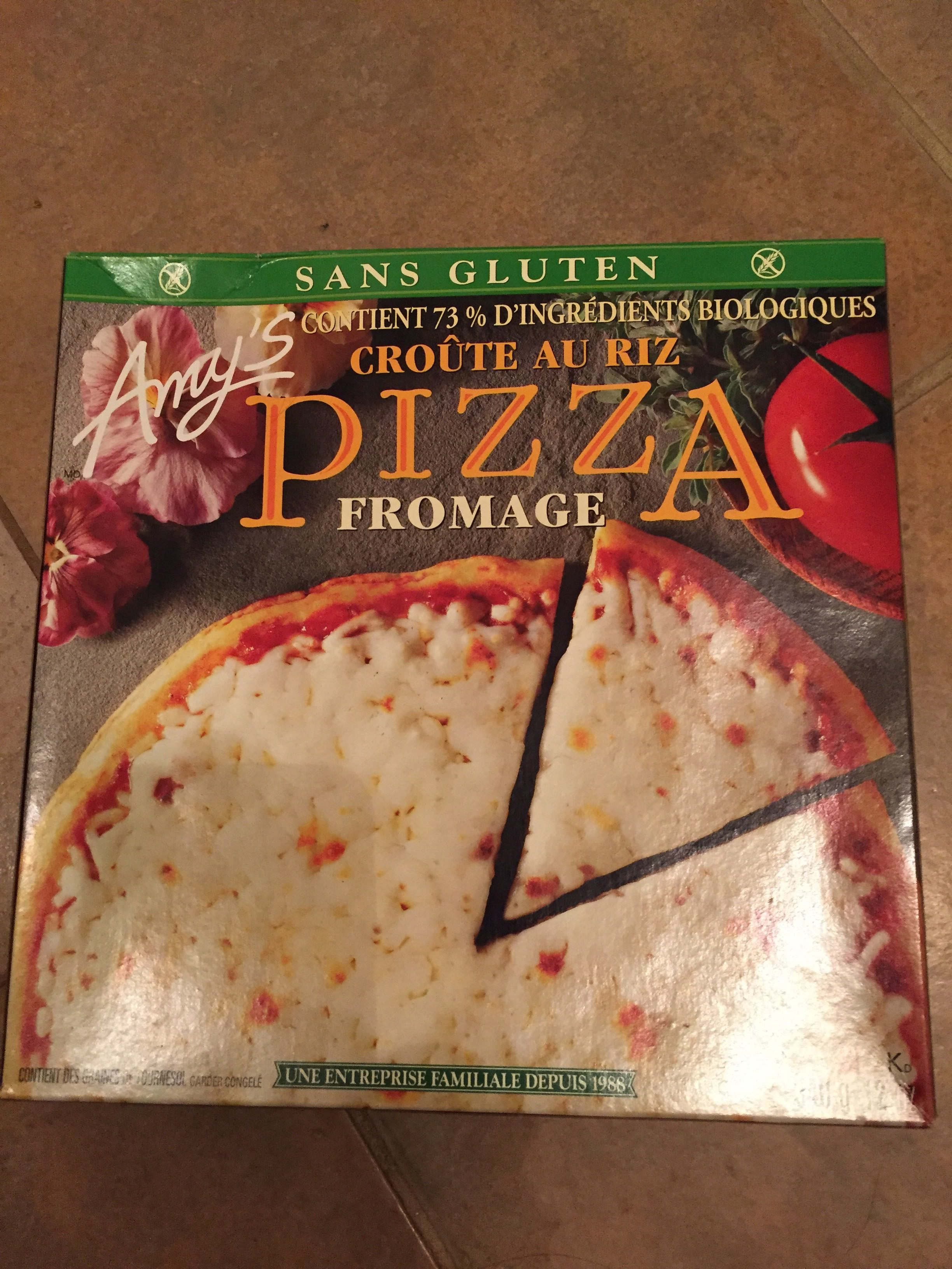 Pizza, Cheese, Rice Crust - Product