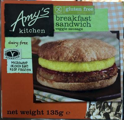 Amy S Kitchen Breakfast Sandwich
