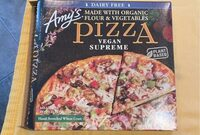 Supreme meatless pepperoni & sausage hand stretched - Product - en