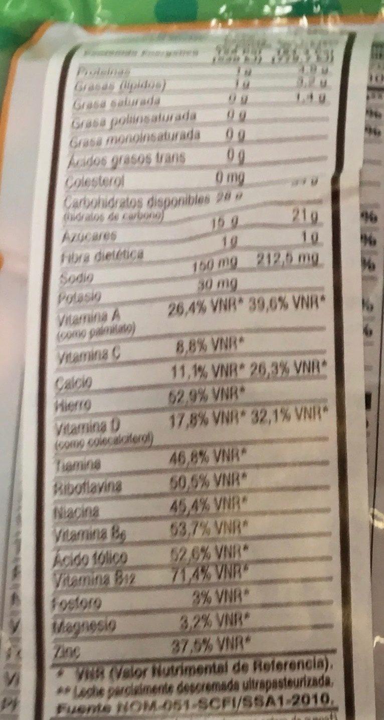 Apple Zings - Voedingswaarden