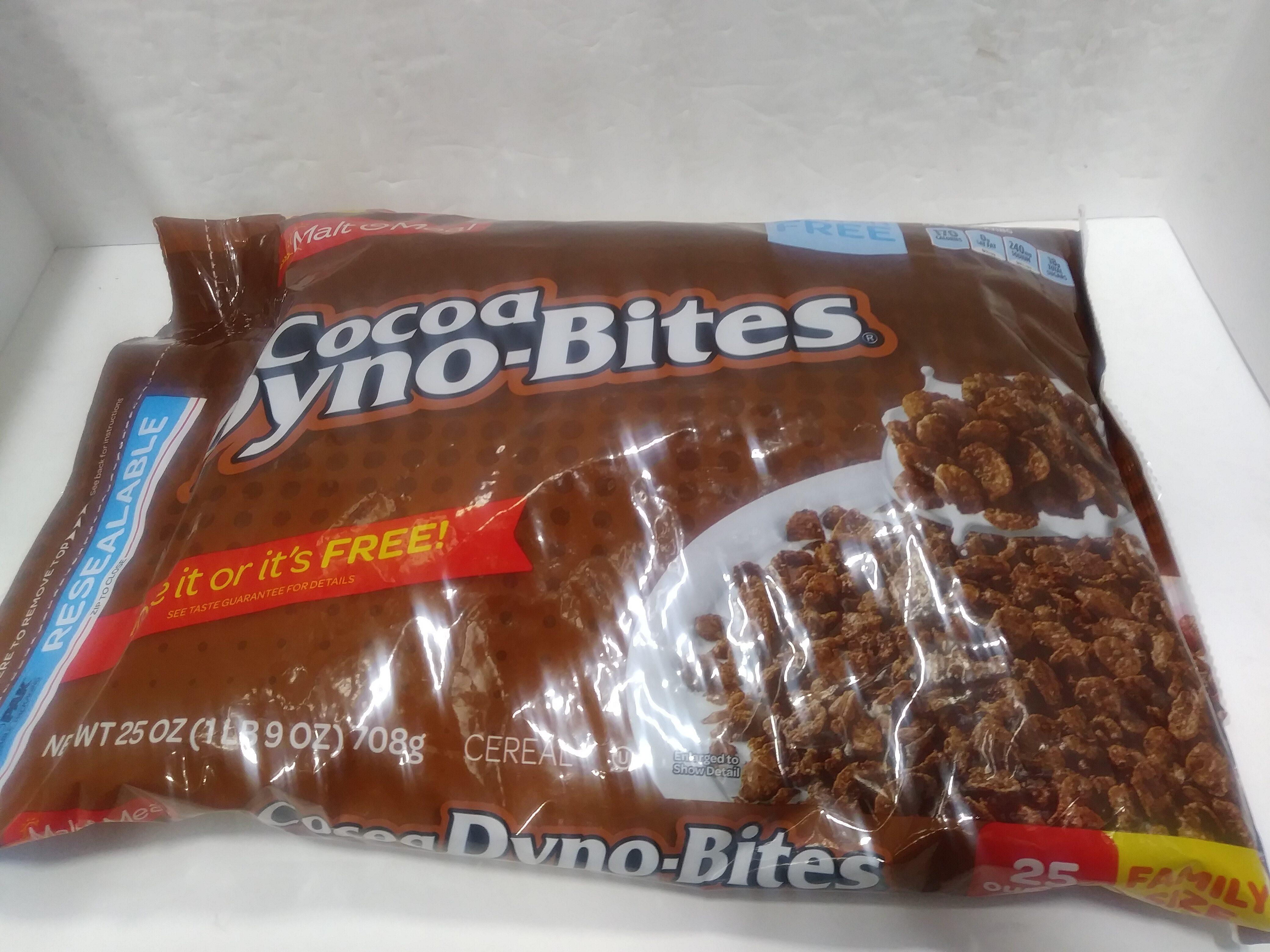 Cocoa Dyno-Bites Cereal - Prodotto - en