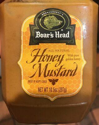 Boar's head, honey mustard - Product - en