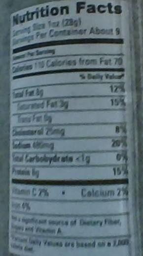 Genoa salame - Nutrition facts - en