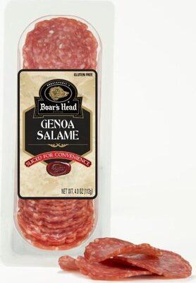 Genoa sliced salame - Product - en