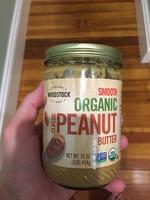 Peanut butter, organic, smooth - Produit