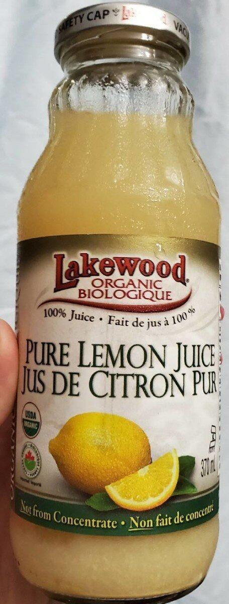 Organic Pure Lemon Juice - Product - fr