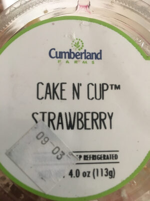 Cake N' Cup strawberry - Product