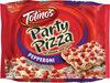 Pepperoni party frozen pizza - Produit