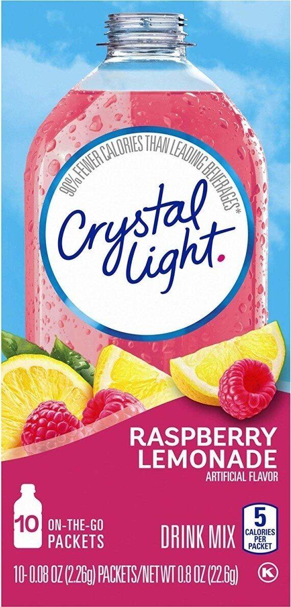 On the go raspberry lemonade drink mix - Product - en