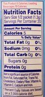 On the go raspberry lemonade drink mix - Nutrition facts - en