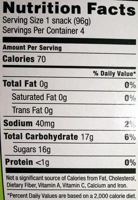 Jell-o Island Pineapple Gelatin Snacks - Voedingswaarden - en