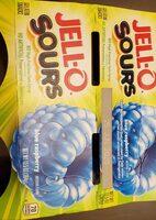 jell-o 4ct rasp Sours - Ingredients - en
