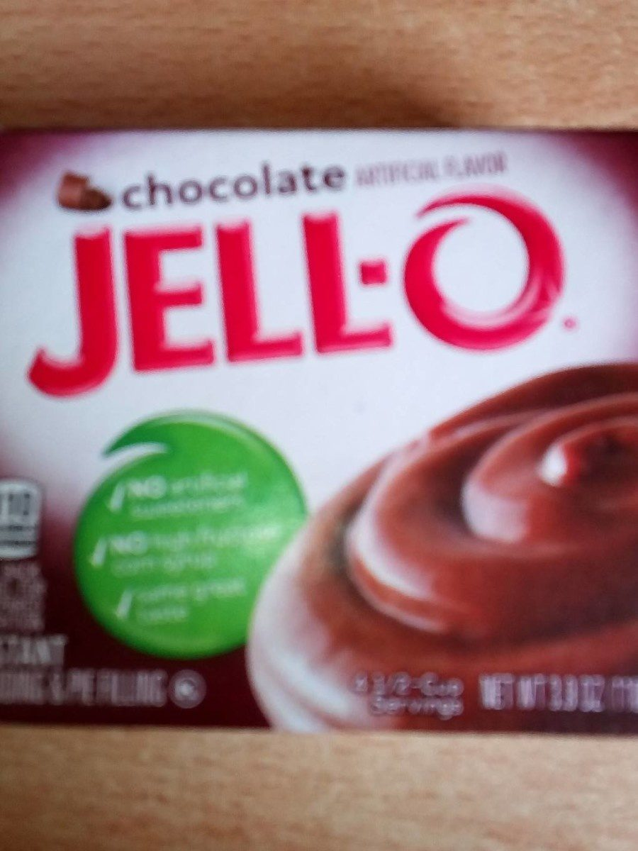 Jell-o chocolate - Produit