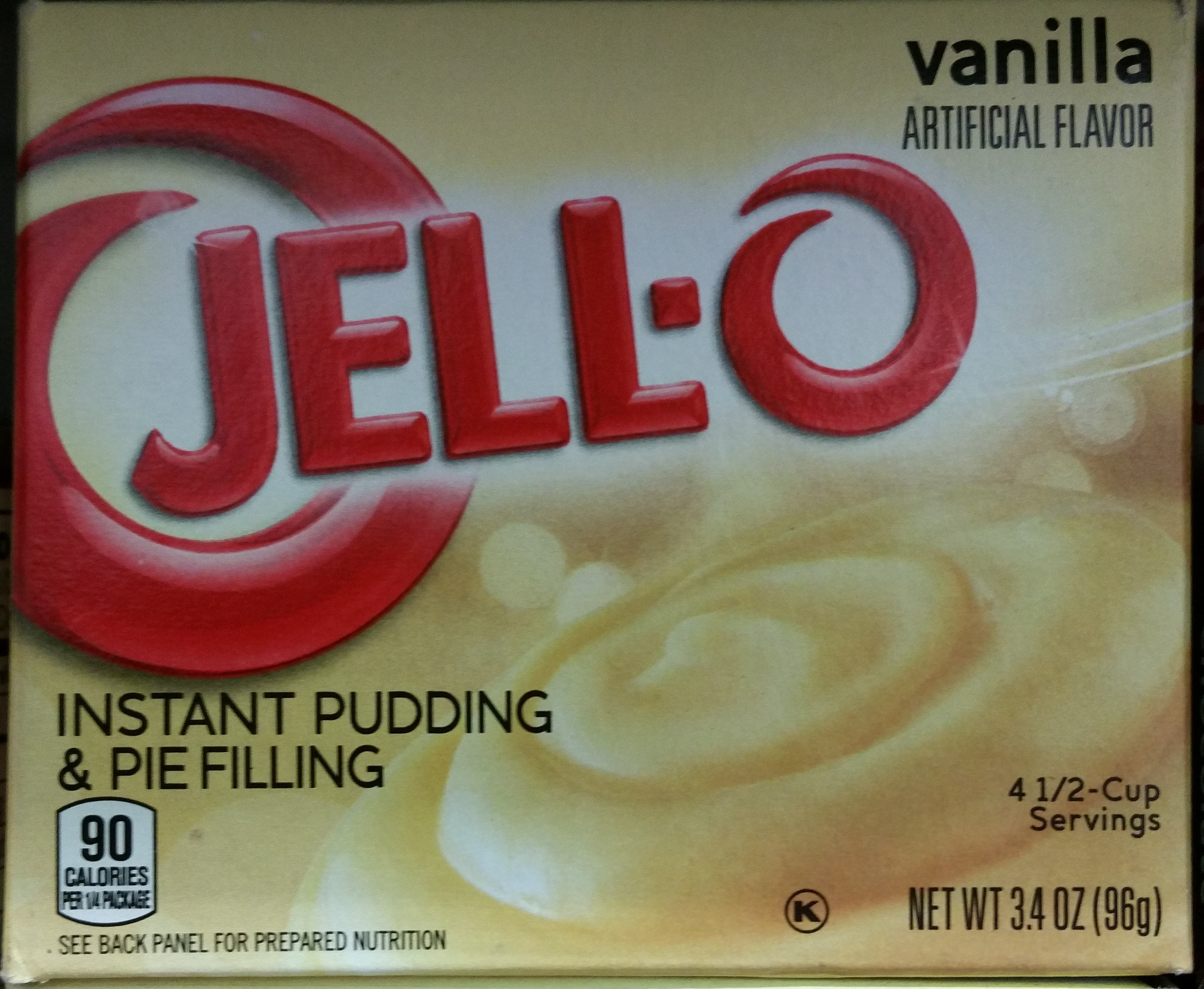 Jell-o vanille - Product