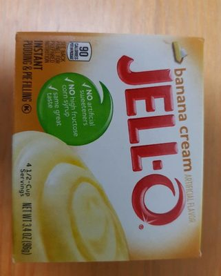 Jello banana cream - Product
