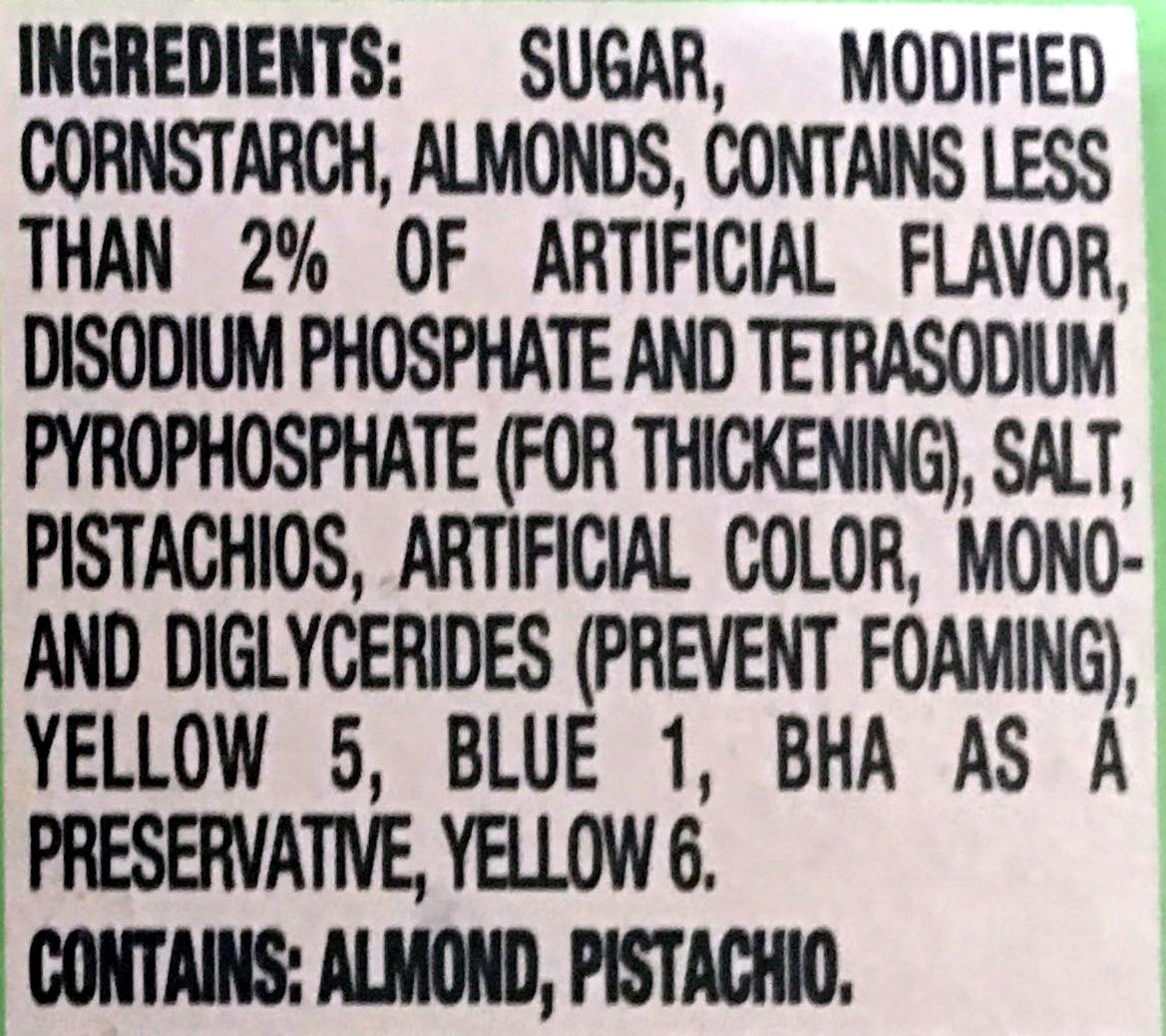 Pistachio - Ingredients - en