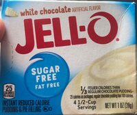 Jello white chocolate instant pudding pie filling mix boxes - Product - en