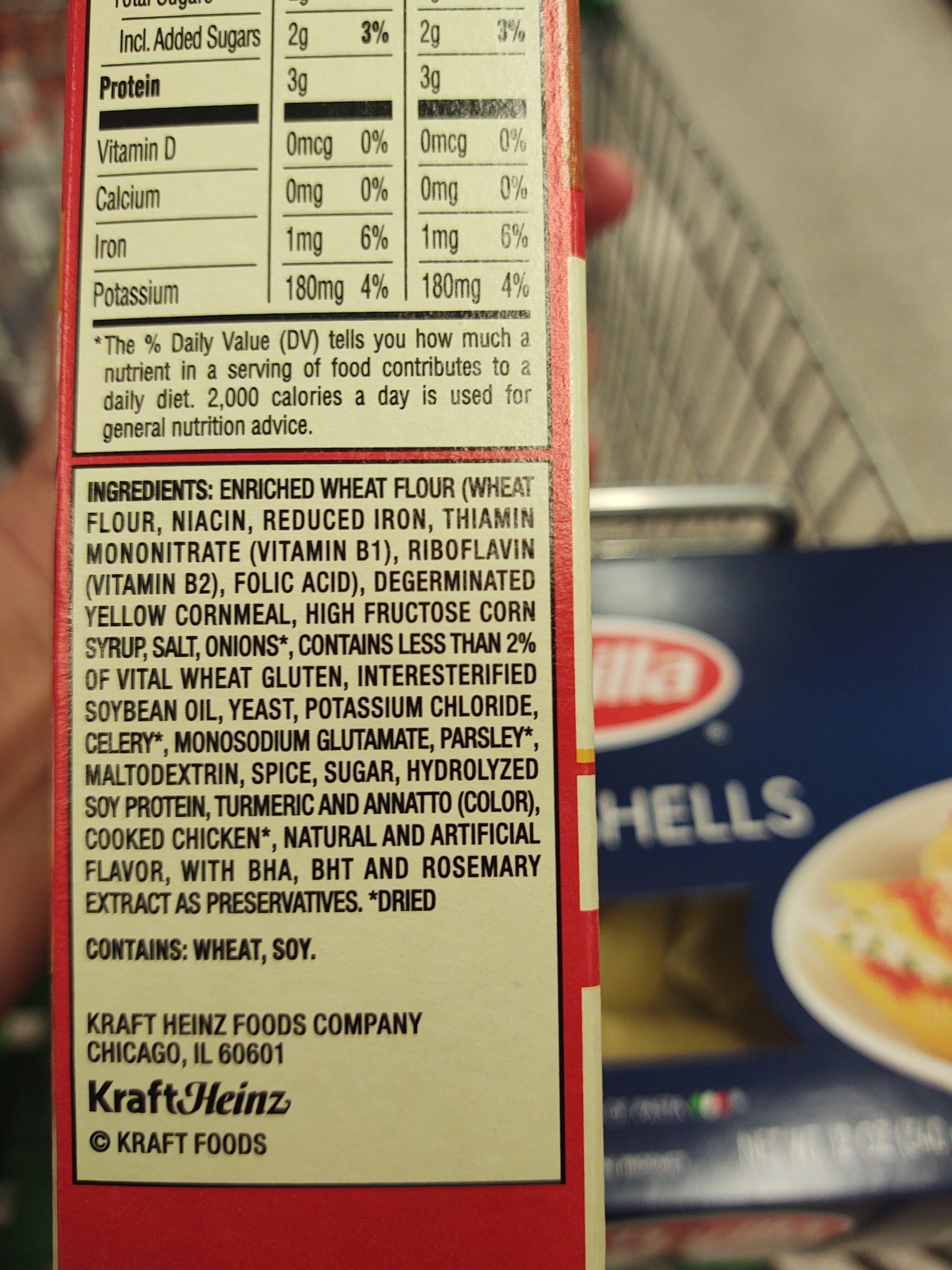 corn bread - Ingrediënten - en