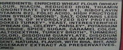 Turkey stuffing mix boxes - Ingredients - en