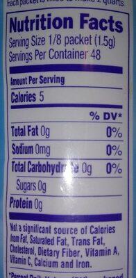 Tropical strawberry kiwi qt - Nutrition facts - en