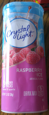 Drink Mix, Raspberry Ice - Product