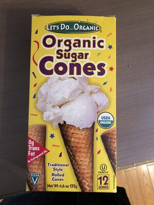 Organic Sugar Cones - Produit