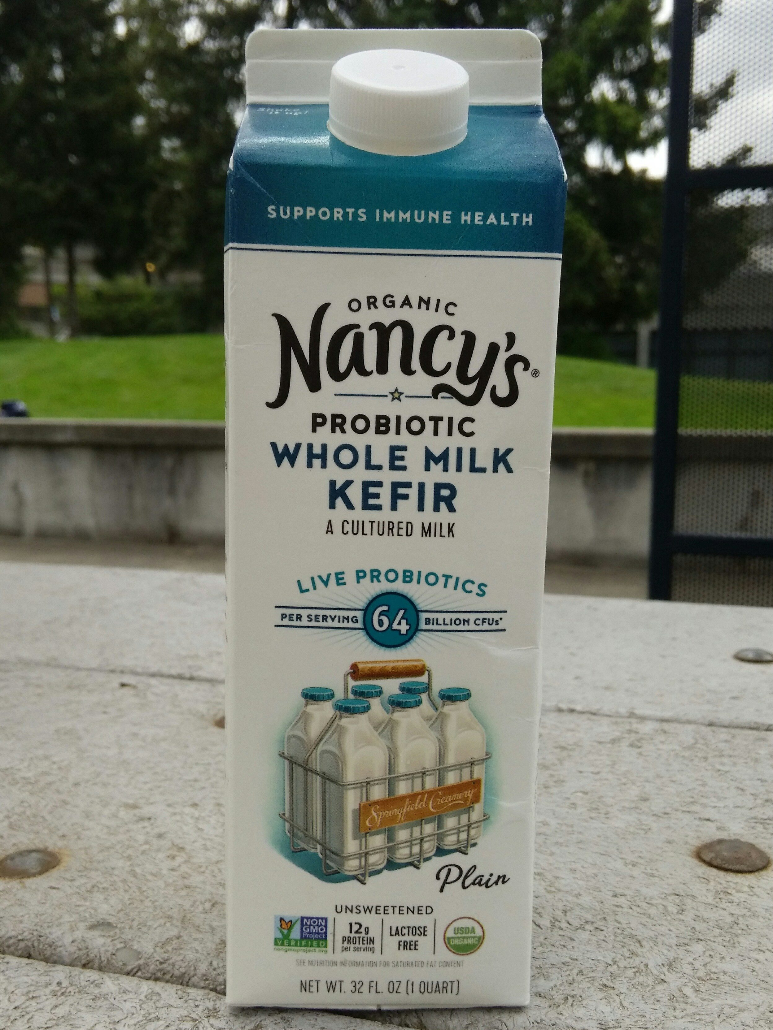 Whole Milk Kefir (Organic) - Product