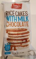 galettes de riz au chocolat au lait - Produit - en