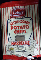 Lieber's, Kettle Cooked Potato Chips, Barbecue - Product