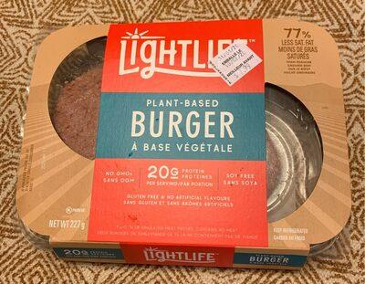 Burger a base vegetale - Produit - fr