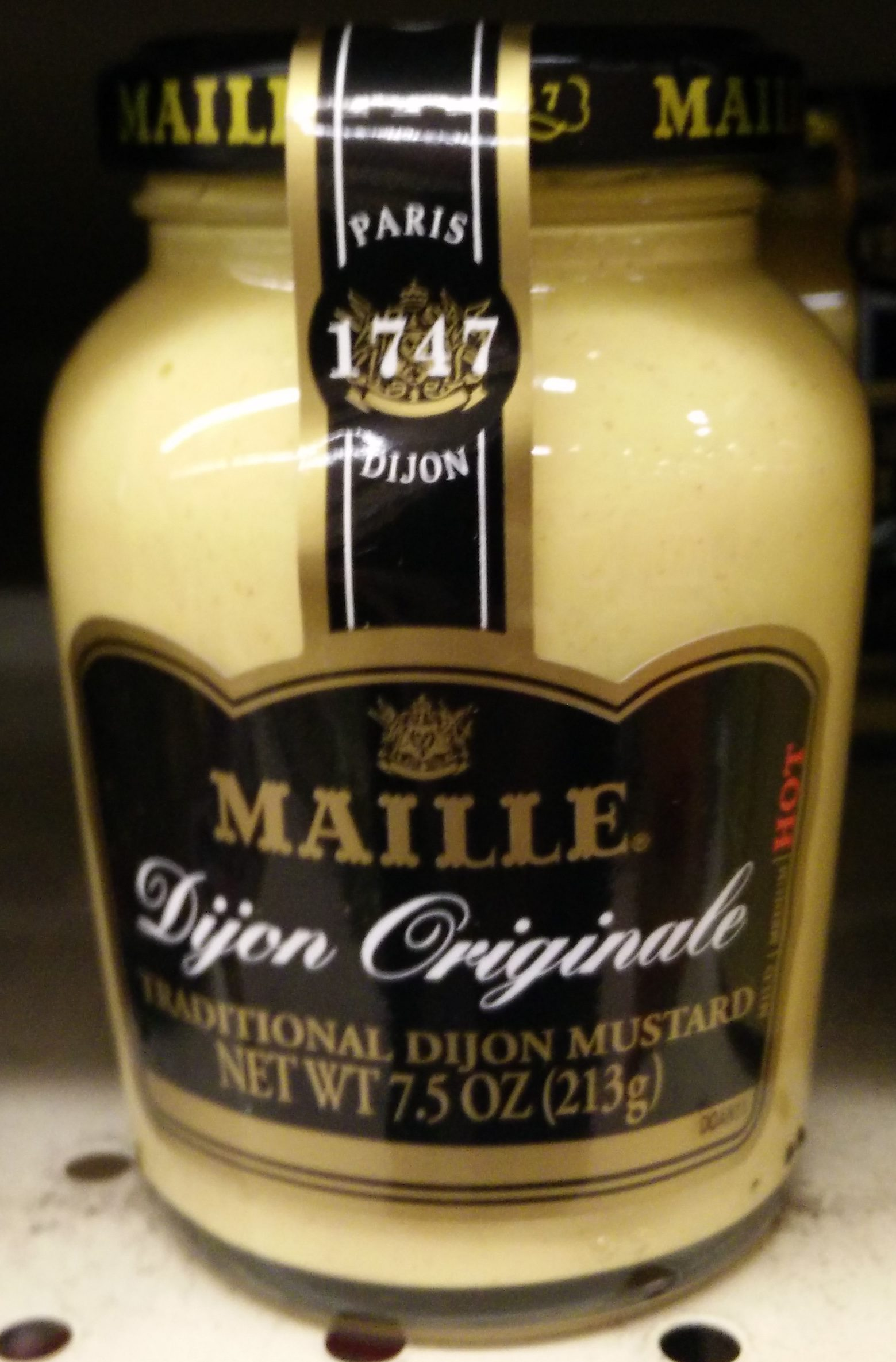 Traditional dijon mustard - Product - en