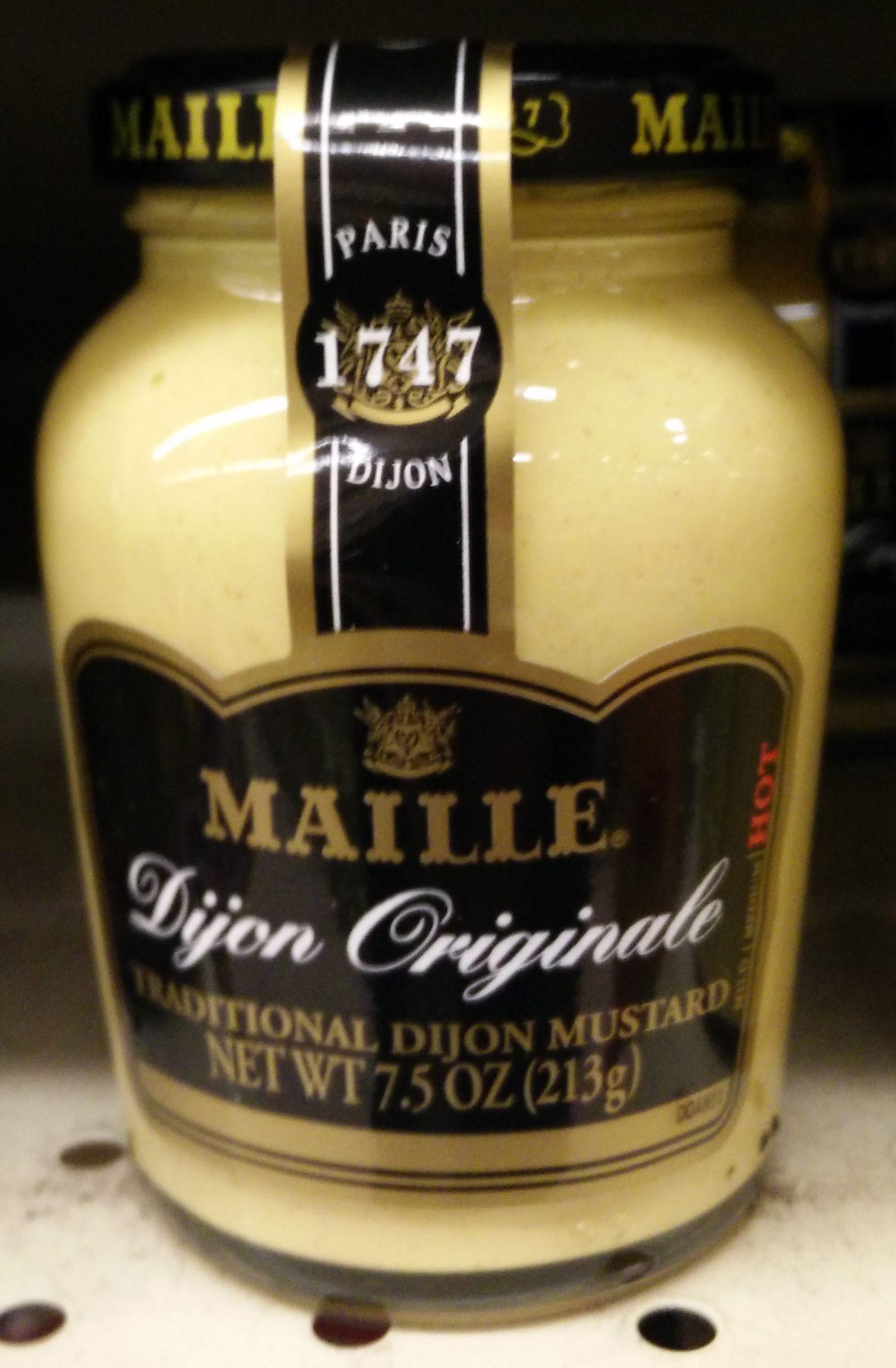 Traditional dijon mustard - Produit - fr