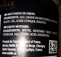 Moutarde de Dijon - Ingredients - fr