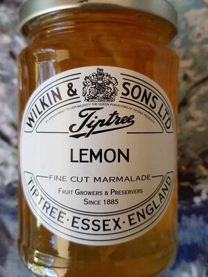 Marmelade De Citrons Avec écorce Fine - Producte