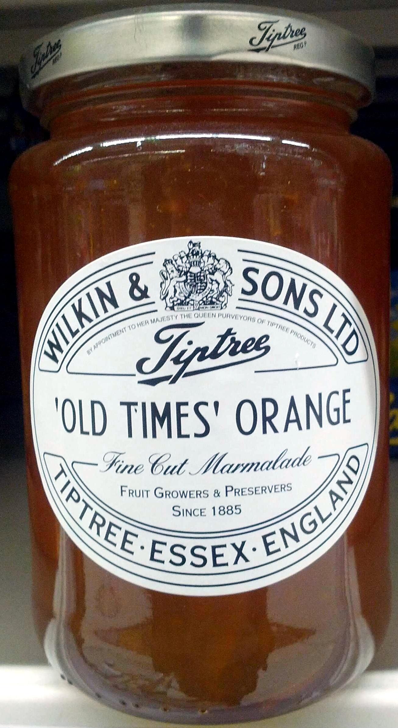 'Old Times' Orange Fine Cut Marmalade - Product - en