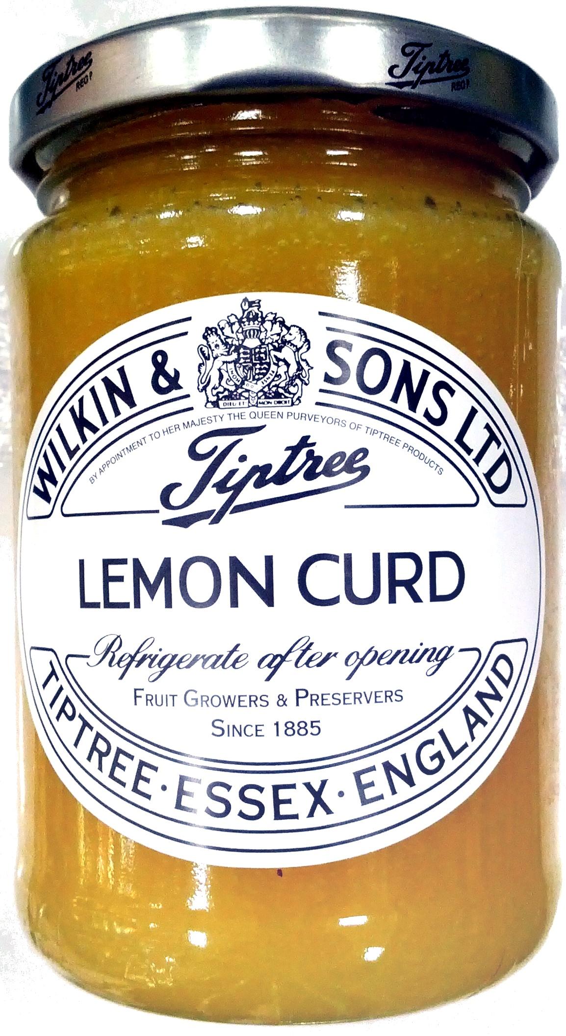 Chip tory lemon curd - Product - en
