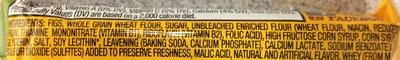 Nabisco newtons lunchbox cookies fig fat free1x2.1 oz - Ingredients - en