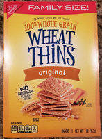 Nabisco wheat thins crackers 1x16 oz - Product - en