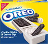 Kraft handi-snacks oreo two compartment snacks sticks and cream 1x6.000 oz - Product