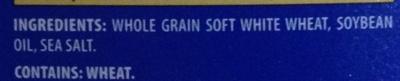 Triscuit Original Crackers - Ingredients
