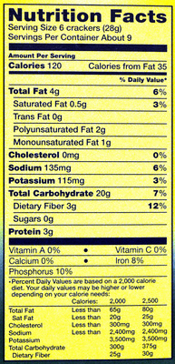 Nabisco triscuit crackers roasted garlic 1x9 oz - Nutrition facts - en