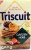 Triscuit garden herb crackers - Produit